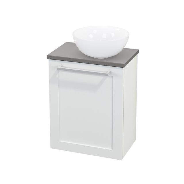 Toiletmeubel met Waskom Keramiek Modulo+ Pico Mat Wit 41cm BMC000612