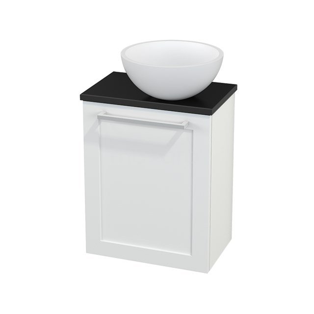 Toiletmeubel met Waskom Solid Surface Mat Modulo+ Pico Mat Wit 41cm BMC000621