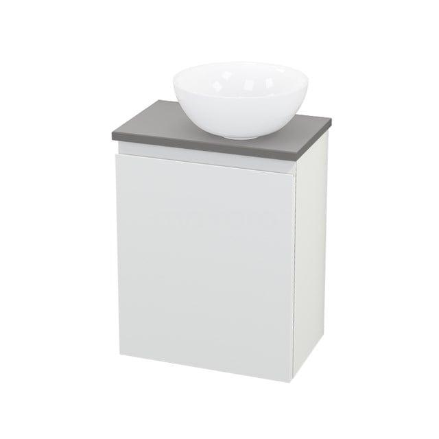 Toiletmeubel met Waskom Keramiek Modulo+ Pico Mat Wit 41cm BMC000640