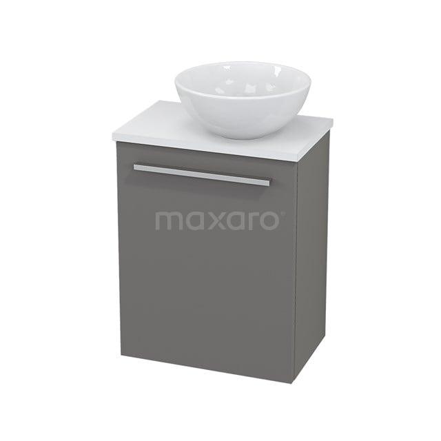 Toiletmeubel met Waskom Keramiek Modulo+ Pico Basalt 41cm BMC000668