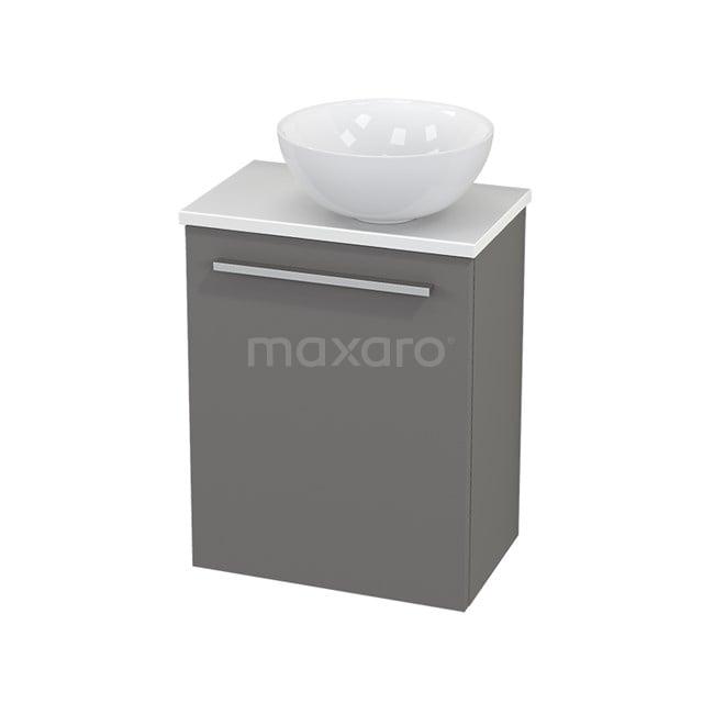 Toiletmeubel met Waskom Keramiek Modulo+ Pico Basalt 41cm BMC000675