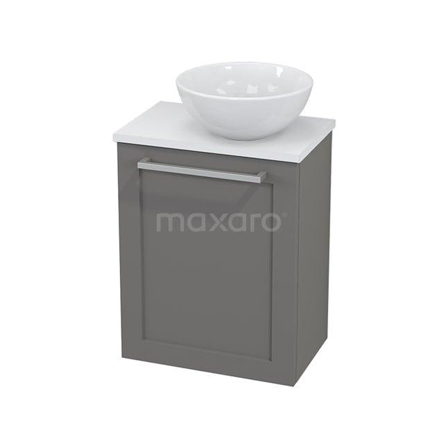 Toiletmeubel met Waskom Keramiek Modulo+ Pico Basalt 41cm BMC000710