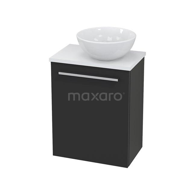 Toiletmeubel met Waskom Keramiek Modulo+ Pico Carbon 41cm BMC000752