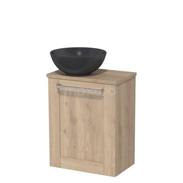 Toiletmeubel met Wastafel Quartz Modulo Lichtbruin Eiken 41 cm TMK10-00112