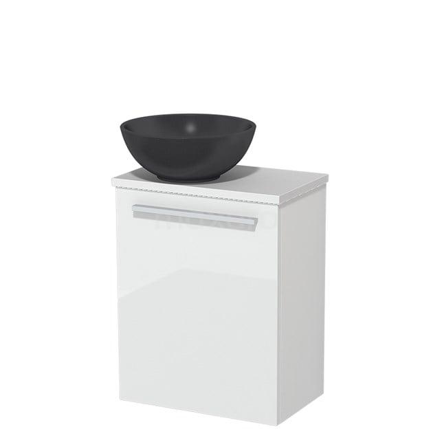 Toiletmeubel met Waskom Quartz Modulo Hoogglans Wit 41 cm TMK10-00174