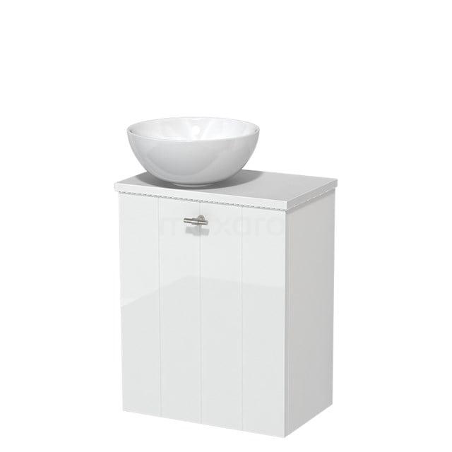 Toiletmeubel met Waskom Keramiek Modulo Hoogglans Wit 41 cm TMK10-00175