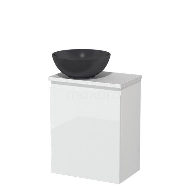 Toiletmeubel met Waskom Quartz Modulo Hoogglans Wit 41 cm TMK10-00186