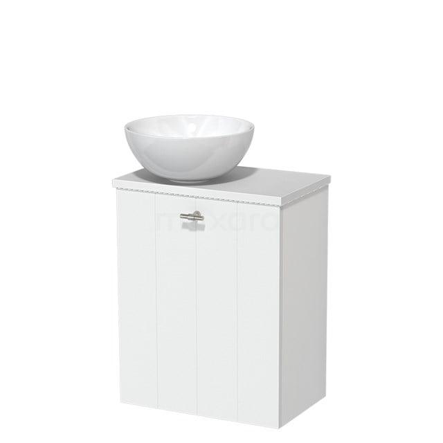 Toiletmeubel met Waskom Keramiek Modulo Mat Wit 41 cm TMK10-00199