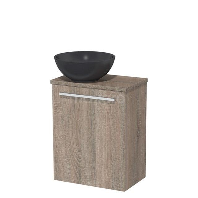 Toiletmeubel met Waskom Quartz Modulo Eiken 41 cm TMK10-00246