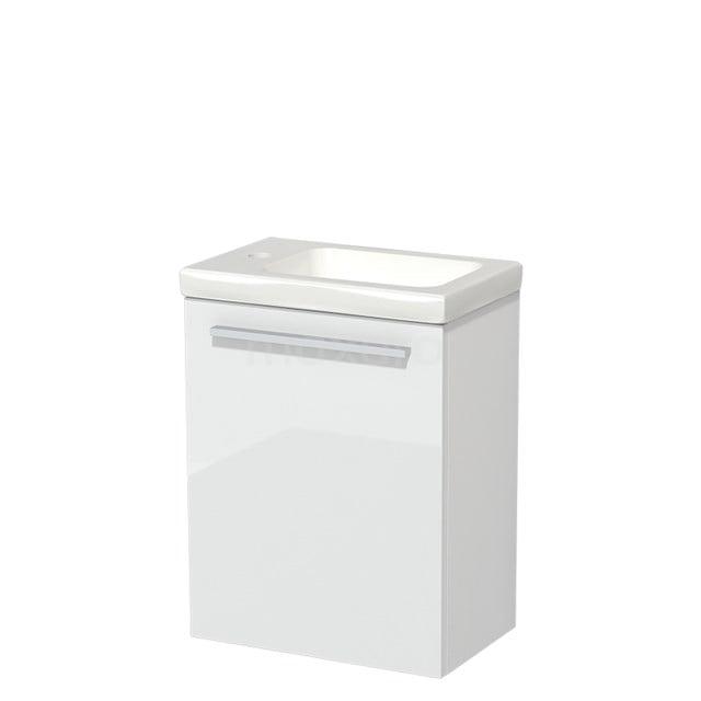 Toiletmeubel met Wastafel Keramiek Modulo Hoogglans Wit 40 cm TMW10-00145
