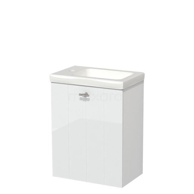 Toiletmeubel met Wastafel Keramiek Modulo Hoogglans Wit 40 cm TMW10-00151