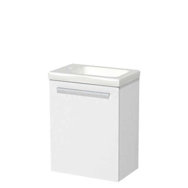 Toiletmeubel met Wastafel Keramiek Modulo Mat Wit 40 cm TMW10-00169