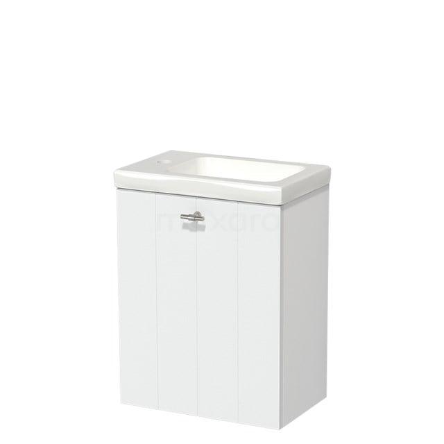 Toiletmeubel met Wastafel Keramiek Modulo Mat Wit 40 cm TMW10-00175