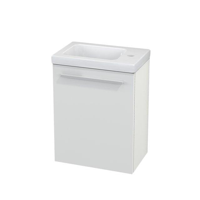 Toiletmeubel met Wastafel Keramiek Modulo+ Pico Hoogglans Wit 40cm BMC001013