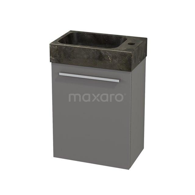 Toiletmeubel met Wastafel Natuursteen Modulo+ Pico Basalt 40cm BMC001078