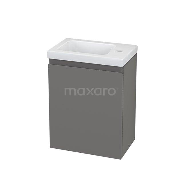 Toiletmeubel met Wastafel Keramiek Modulo+ Pico Basalt 40cm BMC001101