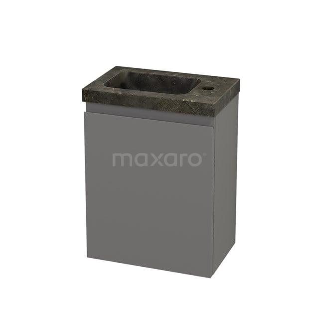 Toiletmeubel met Wastafel Natuursteen Modulo+ Pico Basalt 40cm BMC001104