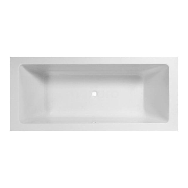 Ligbad Ponza 180x80cm Acryl Mat Wit Slim Edge Design, Extra Diep XZ01-1880XLSM