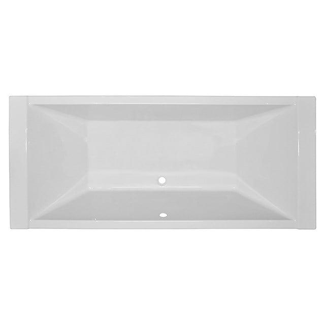 Ligbad Elba 200x90cm Acryl Mat Wit Slim Edge Design XZ01-2090SM