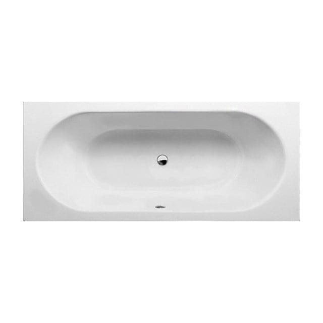 Ligbad Capri 200x90cm Acryl Mat Wit Slim Edge Design, Extra Diep XZ03-2090XLSM