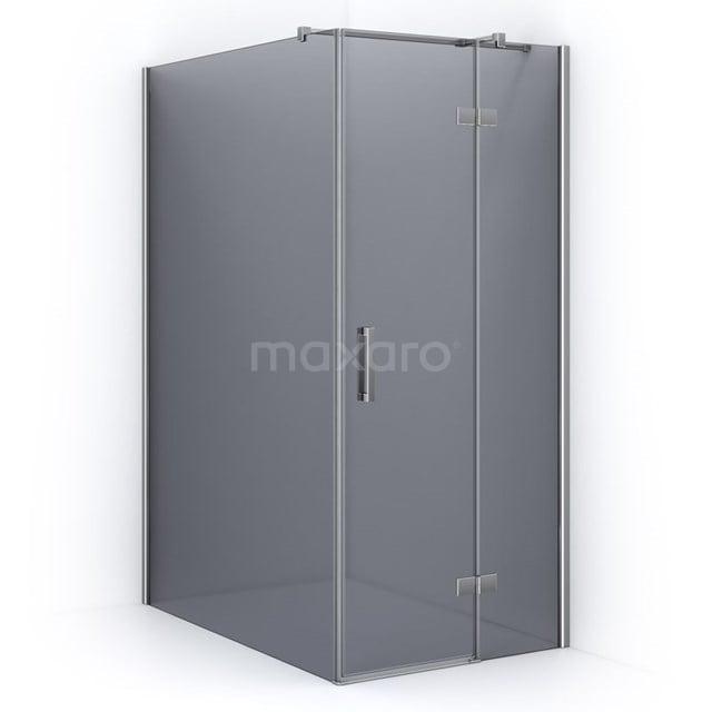 Douchecabine Pearl Rookglas 140x90cm met Draaideur CPB1454321C