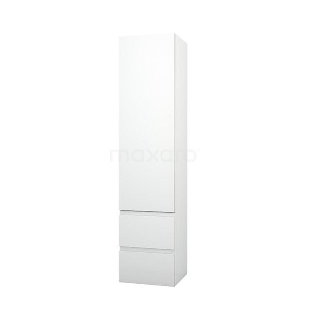Badkamerkast Lungo+ 170x40cm Hoogglans Wit 1 Deur LPS-0400009-1