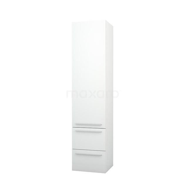 Badkamerkast Lungo+ 170x40cm Hoogglans Wit 1 Deur LPS-0401319-1