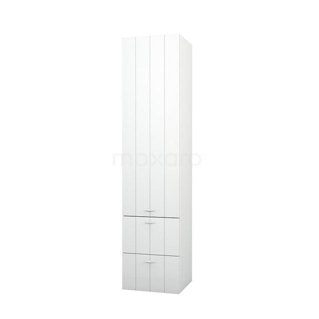 Badkamerkast Lungo+ 170x40cm Hoogglans Wit 1 Deur LPS-0492319-1