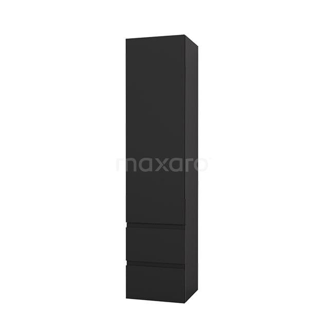Badkamerkast Lungo+ 170x40cm Carbon 1 Deur LPS-1000009