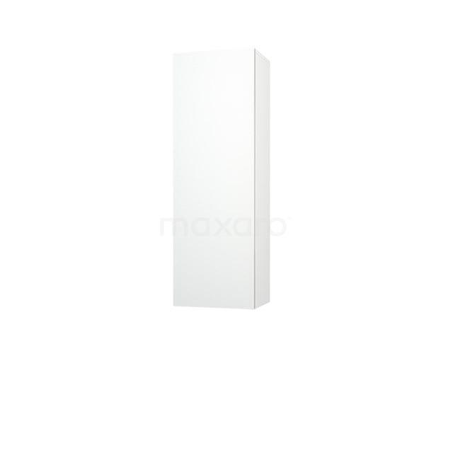 Badkamerkast Medio+ 120x40cm Hoogglans Wit 1 Deur Greeploos MPS-0400009-1