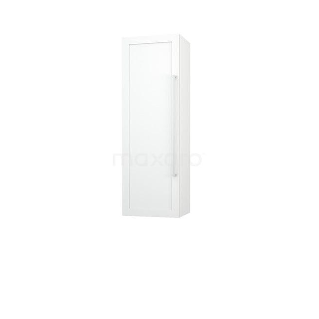 Badkamerkast Medio+ 120x40cm Hoogglans Wit 1 Deur Kader 50 MPS-0404119-1