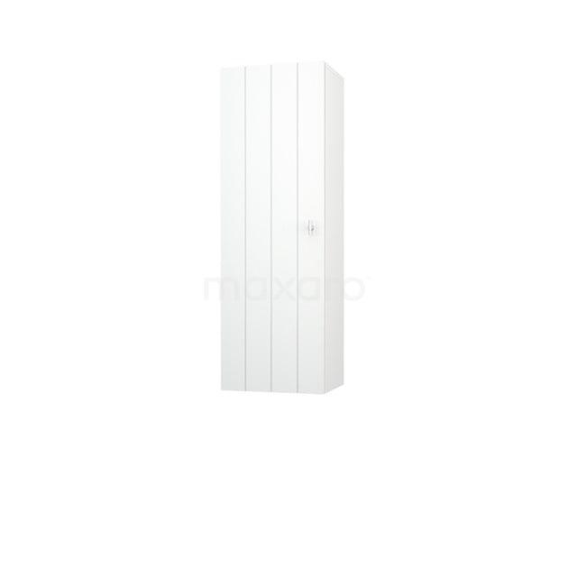 Badkamerkast Medio+ 120x40cm Hoogglans Wit 1 Deur Lamel MPS-0492319-1