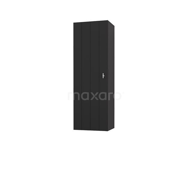 Badkamerkast Medio+ 120x40cm Carbon 1 Deur Lamel MPS-1092319