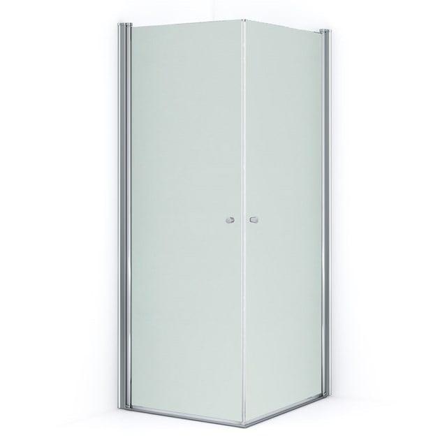 Douchecabine Zircon Comfort Matglas 90x80cm met Draaideur S0313-0908