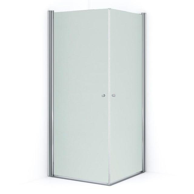 Douchecabine Zircon Comfort Matglas 80x80cm Vierkant met Draaideur S0313-0808