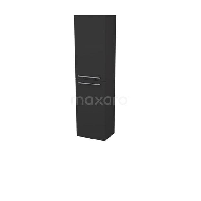 Badkamerkast Box 150x40cm Zwart 2 Deuren S27-0400-72369