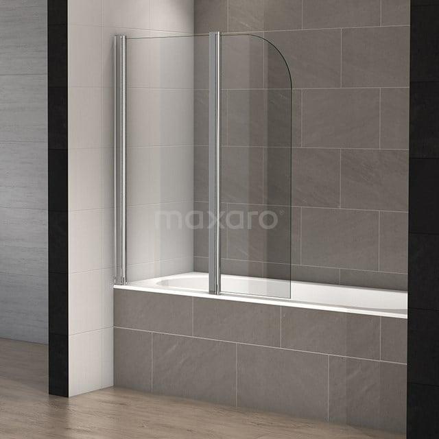 Badwand 2-Delig 120cm Zircon Comfort Draaibaar S8110-5565