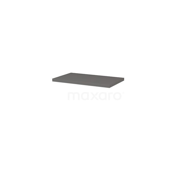 Plato wastafelblad, 80cm, Basalt T06-0800-30900