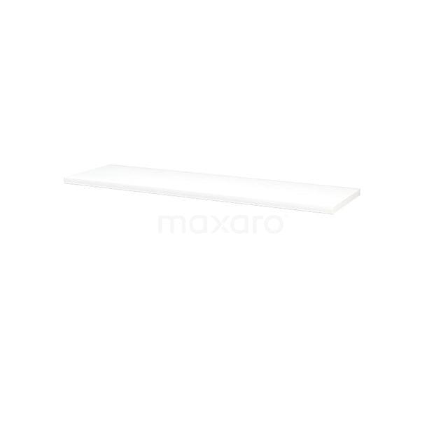 Wastafelblad Modulo+ Plato 160cm Hoogglans Wit T06-1600-30400