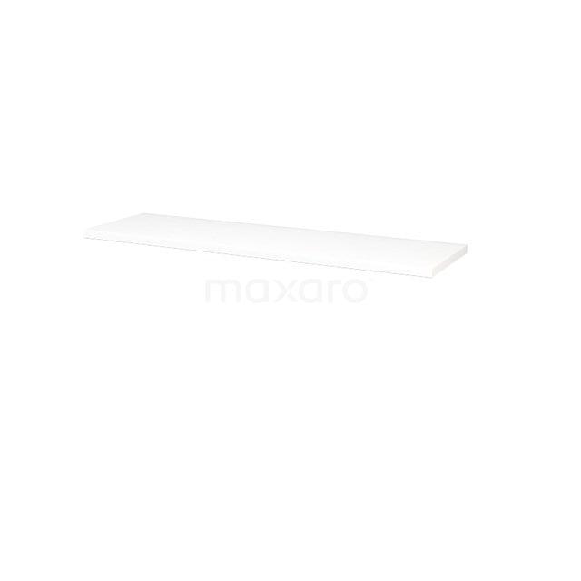 Wastafelblad Modulo+ Plato 160cm Mat Wit T06-1600-30500