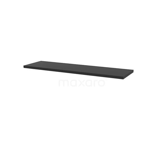 Wastafelblad Modulo+ Plato 160cm Carbon T06-1600-31000