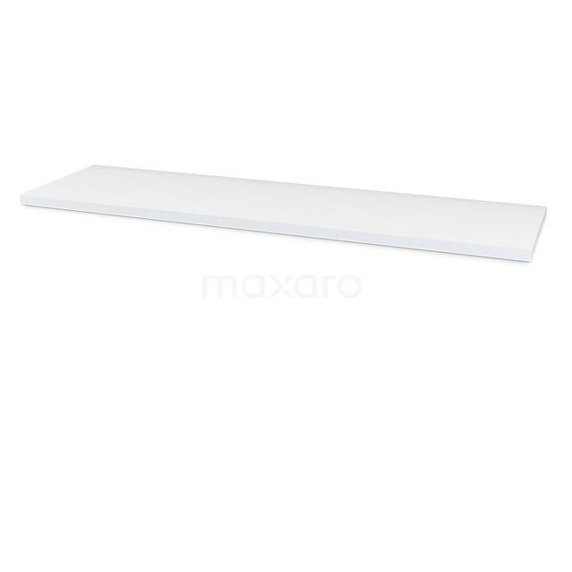 Wastafelblad Modulo Plato 170cm Hoogglans Wit T06-1700-30400
