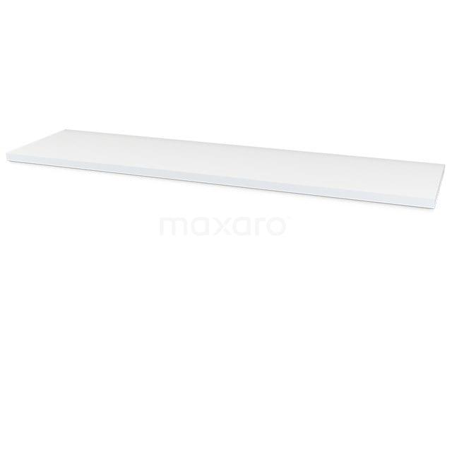 Wastafelblad Modulo+ Plato 180cm Hoogglans Wit T06-1800-30400