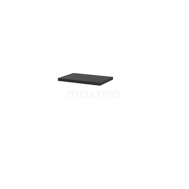Wastafelblad Modulo+ Plato Slim 60cm Carbon Ondiep T09-0600-31000