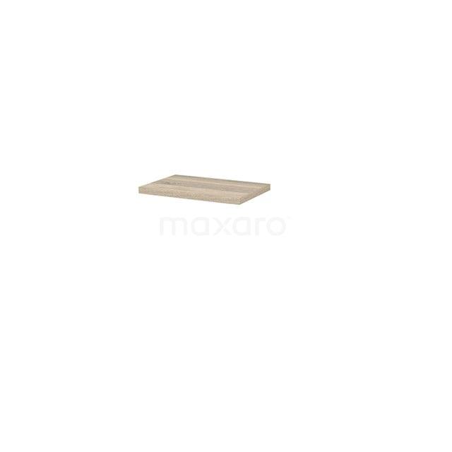 Wastafelblad Modulo+ Plato Slim 60cm Eiken Ondiep T09-0600-33200
