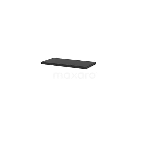Wastafelblad Modulo+ Plato Slim 80cm Carbon Ondiep T09-0800-31000