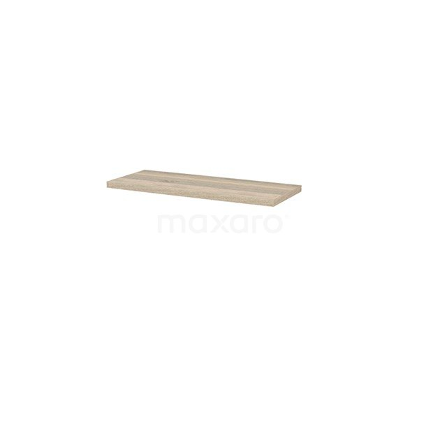 Wastafelblad Modulo+ Plato Slim 100cm Eiken Ondiep T09-1000-33200