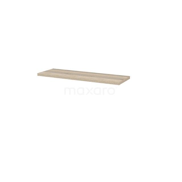 Wastafelblad Modulo+ Plato 120cm Eiken Ondiep T09-1200-33200