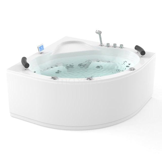Whirlpool Bad Atlantic Platinum 2 Persoons 150x150cm Water- en luchtmassage met Turbo W02014EM
