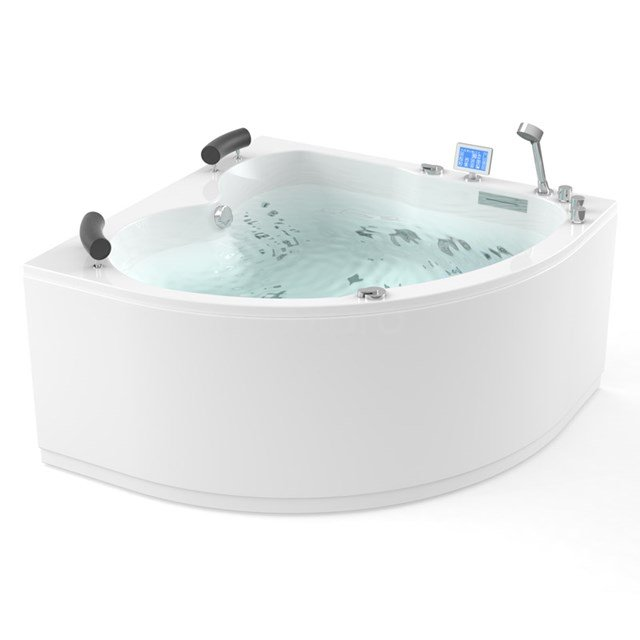 Whirlpool Bad Atlantic Gold 2 Persoons Links 140x140cm Water- en luchtmassage W03014DL